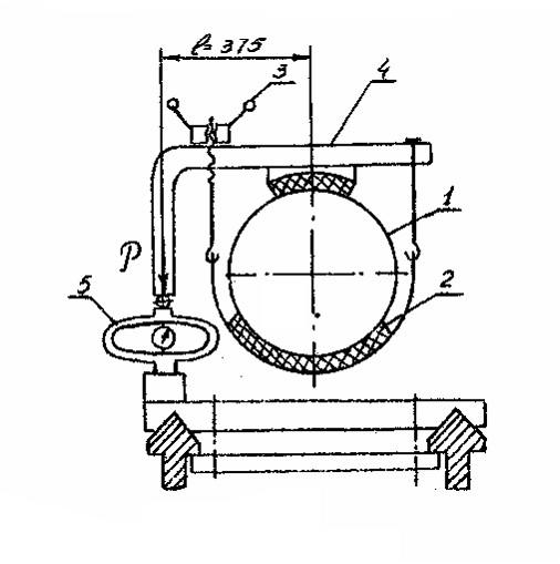 Схема тормозной установки